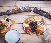 Wine tasting and cheese platters, all the motivation you need to get on your bike!