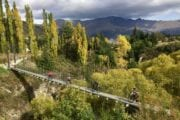 Beautiful autumn colours on the Queenstown Trail