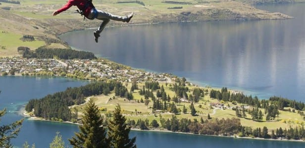 ziptrek over queenstown