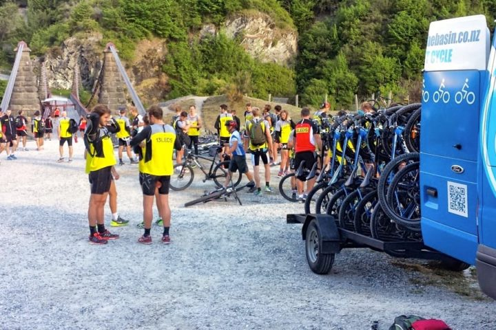 Corporate Group Bike Ride Queenstown