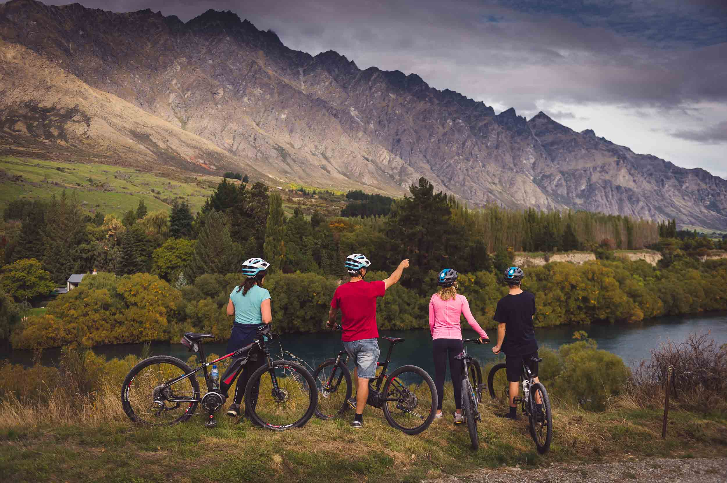 The Ultimate Electric Mountain Bike Tour Queenstown New