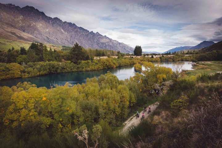 The Kawarau River, next to the Queenstown Trail